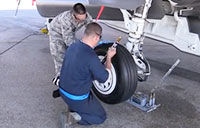 Changing the F-35's Tires