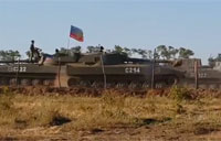 Russian Tanks Mobilize