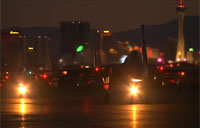 Night Ops at Nellis AFB