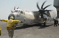 Flight Ops On USS Roosevelt