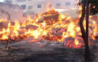 Napalm-like Chemicals Used in Syria