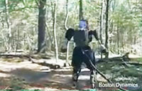 Boston Dynamics' Atlas Robot Tested Outside