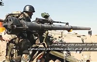 Iraqis Destroy ISIS Sniper Nests