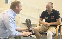 British Vet Tweaks Prosthetic Leg for 1K-Mile Walk