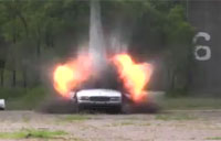 Police Bomb Squad Blows Up Car