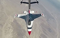 Aerial Refueling of Thunderbirds