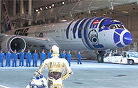 Boeing 787-9 Gets Star Wars Theme