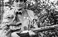 Deadly WWII Female Sniper had 309 Kills