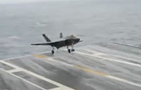 F-35C Lightning II Stealth Carrier Testing