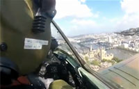 Spitfires and Hurricanes over London