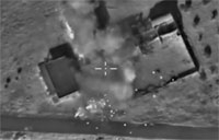 Russia Releases Syrian Strike Footage