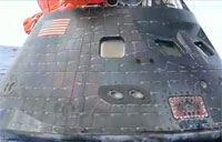 Navy Recovers Orion Crew Module