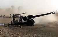 Iraqi Artillery Pounds ISIS