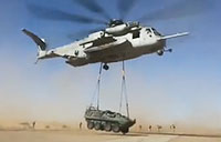 CH-53E Super Stallion Heavy Lifting