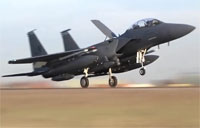 F-15's Arrive In Turkey