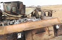 Destroyed ISIS Armored Vehicles