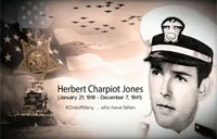 Remembering Pearl Harbor: Herbert Charpiot Jones
