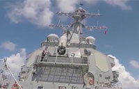 USS Lassen Tests its CIWS