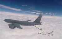 Thunderbirds Aerial Refueling