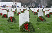 Wreaths Across America Day 2015