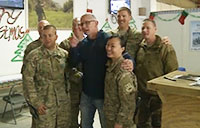 Chef Robert Irvine Visits Bagram Air Field