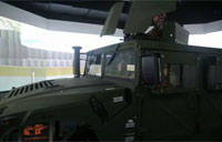 Humvee and Air Support Simulator