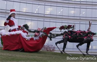 Happy Holidays, Boston Dynamics Style