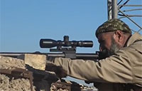 Iraqi Sniper Takes on ISIS