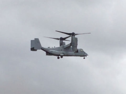 Fatal MV-22 Crash in Hawaii