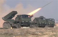 Lebanese Army Tests Russian Rockets