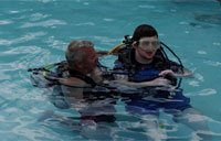 Disabled Vet Winter Sports Clinic: Scuba Diving