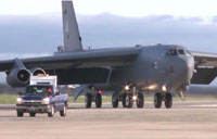 B-52 Bombers Land in Spain