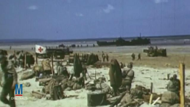 General Interest: Rare Color D-Day Footage