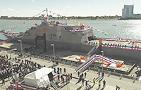 USS Detroit Commissioning Ceremony