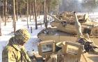 1-68 Armor Prepares Equipment in Poland