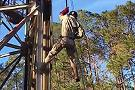 Parris Island Rappel Tower