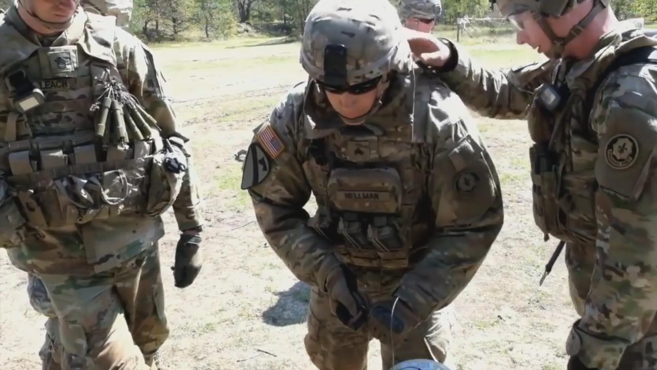 fire in the hole us army live fire eod training