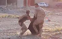 Iraqi Soldier Risks His life to Save a Woman Fleeing ISIS