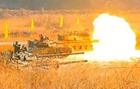 South Korea Tank Live Fire