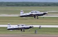 USAF Pilot Training: T-6A Texan II Touch & Go Landings