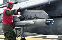 First: Harrier Pilot Fires APKWS in Indo-Asia-Pacific Region