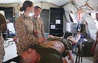 Marines and Sailors Train to Save Lives