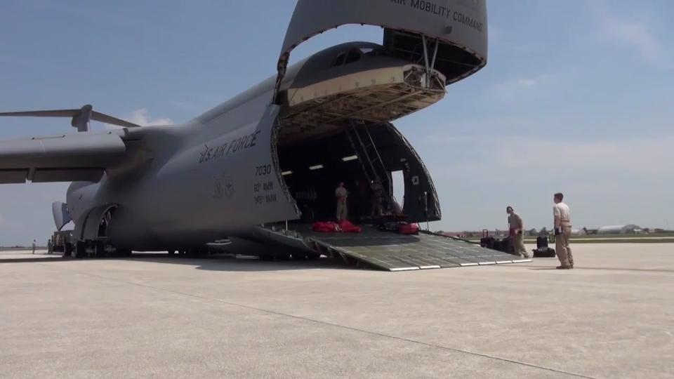 For C-5 Galaxy Fans: Largest Plane in the U S  Military