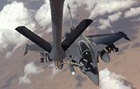 Sky Refueling: French Rafale, USMC Prowler, Aussie Wedgetail