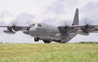 MC-130J Commando II Landing/Takeoff On Remote Island Runway
