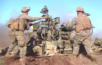 M-777 Howitzers Can Fire Direct