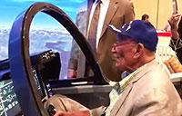 An Original Tuskegee Airman Flies Again!
