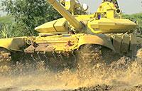 Indian Army Tank Training