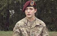 Paratrooper For Life: PFC Ashley Marshall