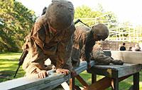 Recruits Face Problem-Solving Obstacle on Parris Island